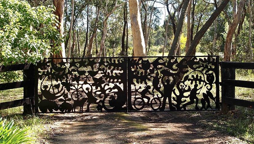 Bowral Gate Fence Metal