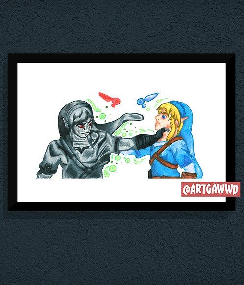 LINK vs DARK LINK