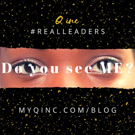 "#RealLeaders ""Do you see ME?"""