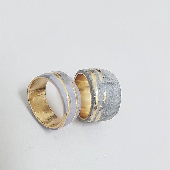 Noy Alon- Comet Ring (custom)
