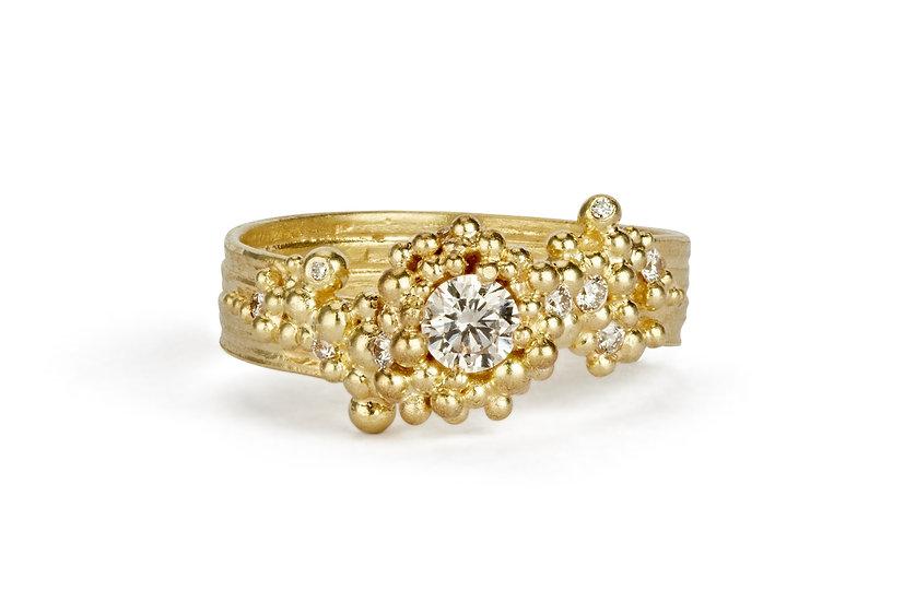 Hannah Bedford -Whorl Diamond Ring
