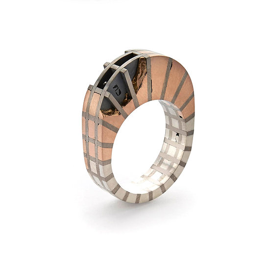 Carl Noonan - Flash & Bone Oval Ring
