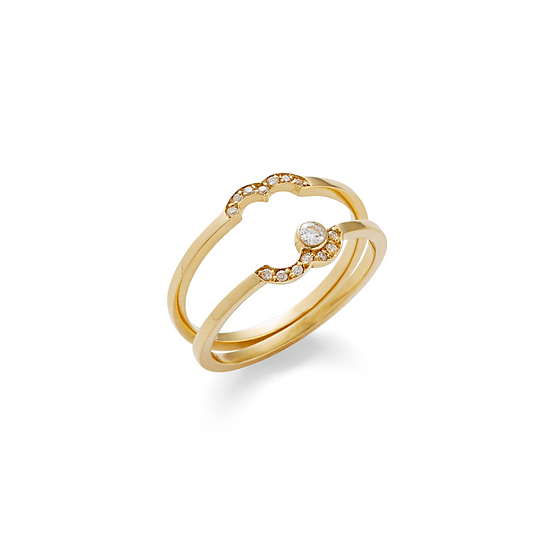 Yael Sonia - DNA Double Bands Ring