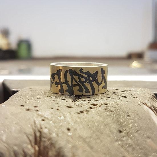 Robean Visschers - Graffiti Ring