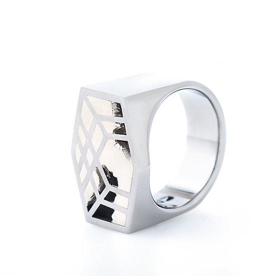Carl Noonan -Interlace Window Ring