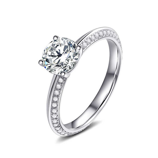 Maya Yuen - The Edge Collection engagement ring