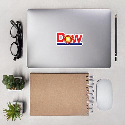 DoW Bubble-free sticker