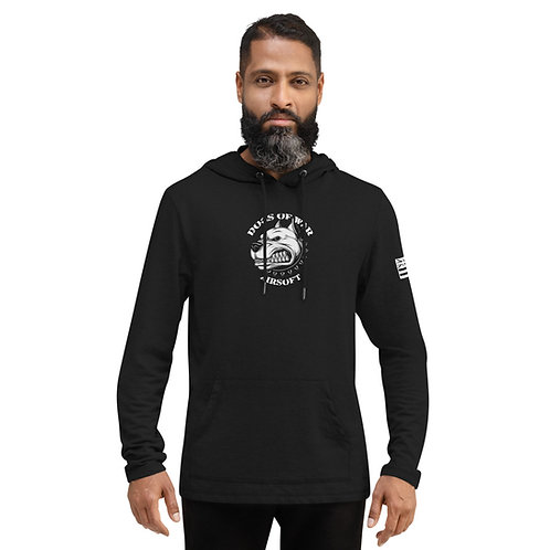 Dogs of War Airsoft Unisex Lightweight Hoodie - Black