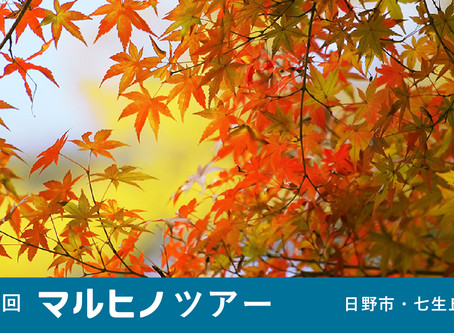 12.15 sun 第8回マルヒノツアー 日野市・七尾丘陵編
