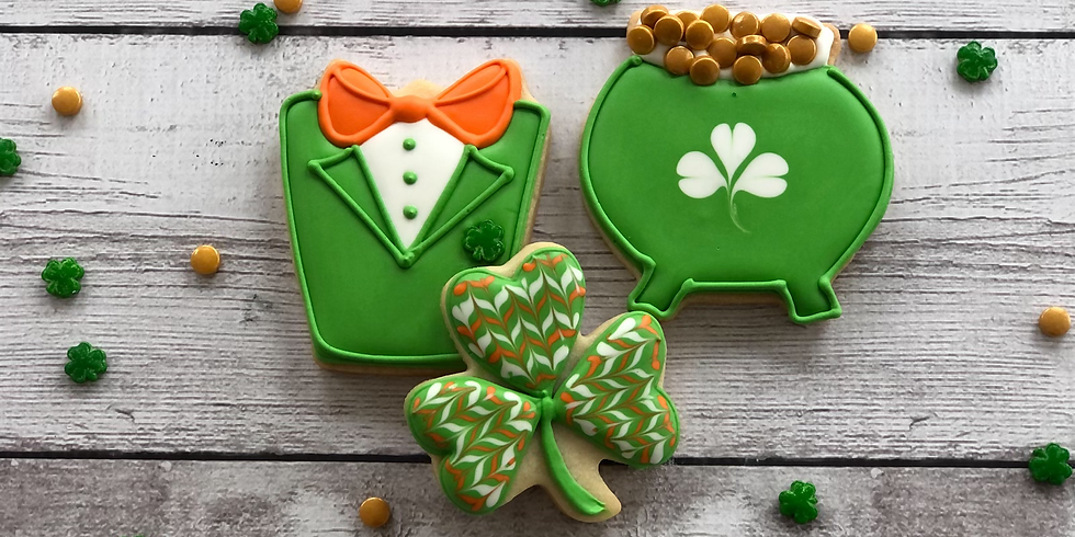 Virtual St. Patrick's Day Cookie Class 9:30am