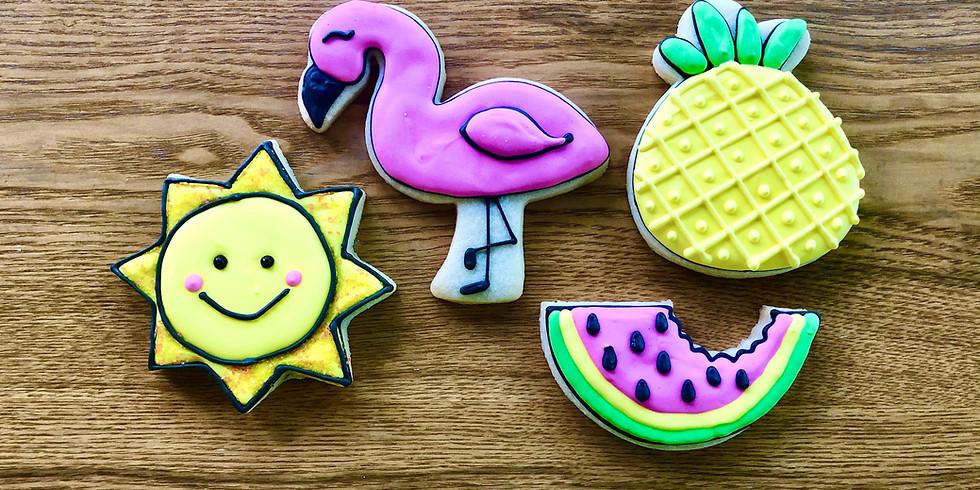 Virtual Summer Fun Cookie Decorating Class