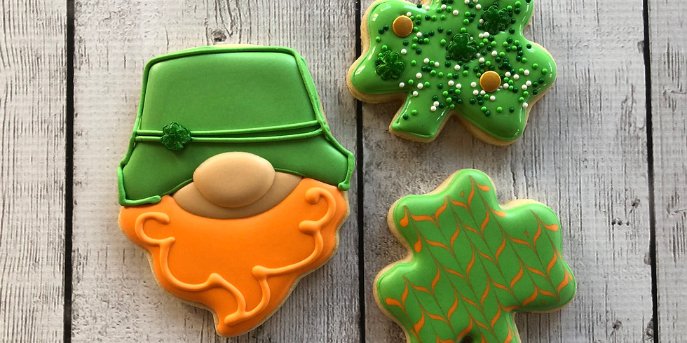 St. Patrick's Day Parent and Me Class 1:00-2:30pm