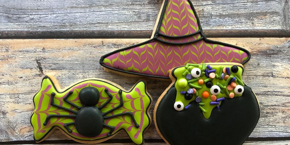 Beginner Halloween Family Class 12:30pm-2:00pm
