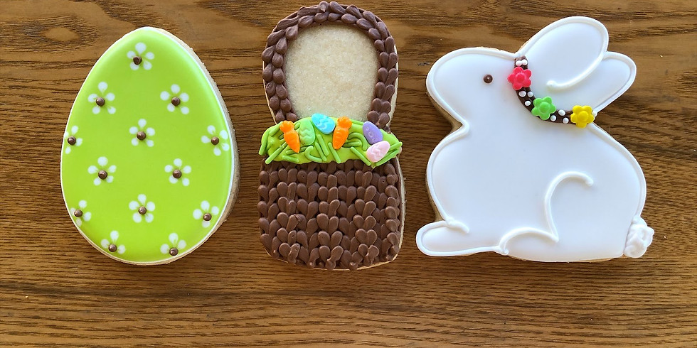 Virtual Easter Cookie Decorating Class