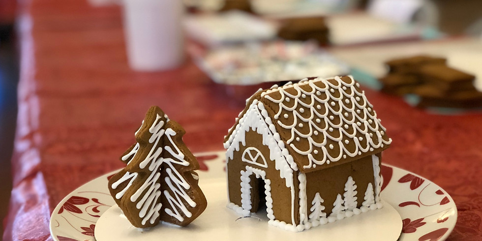 Gingerbread House Party 9:30-11:00am