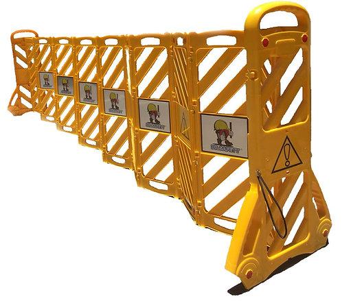 DR SAFETY TD-1600 黃色伸縮圍欄