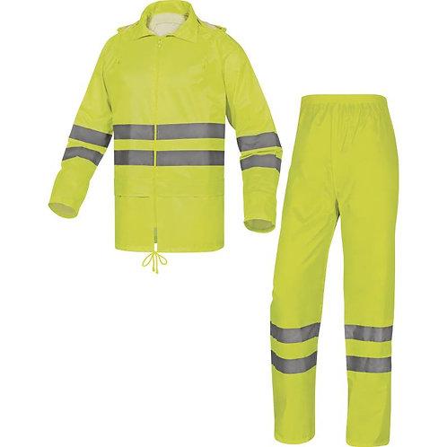 Delta plus EN400LV 反光雨衣連褲套裝