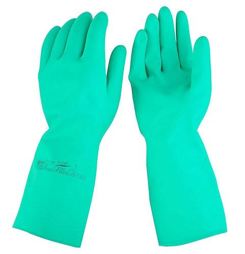 "ANSELL Solvex 37-176 13""綠色防化手套"