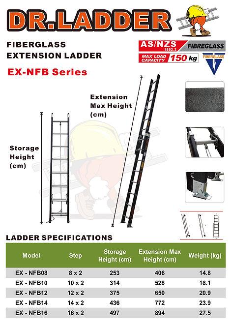 DR LADDER EX-NFB Series 雙截纖維雲梯