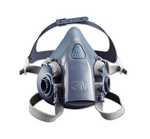 3M™ 7502 雙過瀘半面口罩(舒適型)(中碼 M) (pc)
