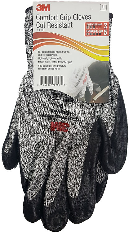 3M™ Comfort Grip Gloves 五級防割耐磨手套(一對)