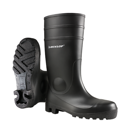 DUNLOP 142PP 安全水鞋 Safety Rain Boots