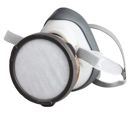 3M™ 1201 單過瀘口罩 + 有機氣體瀘罐 + 過瀘棉 (set)