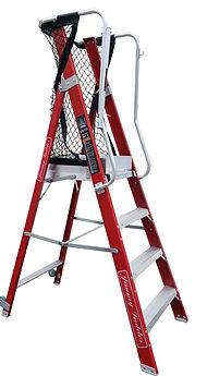 EN131纖維平台圍欄梯台