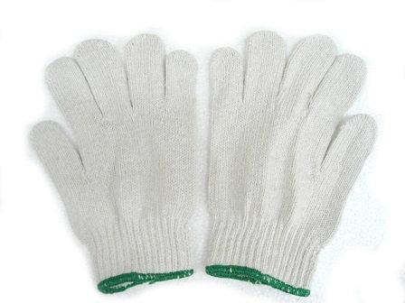 綠邊棉紗手套(打)