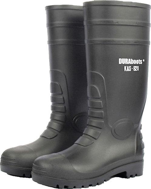 DURAboots KAS828/KAS828Y 黑色/黃色安全水鞋 Safety Rain Boots