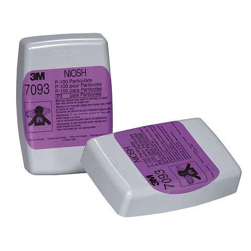 3M™ 7093 P100 濾棉 (pack)