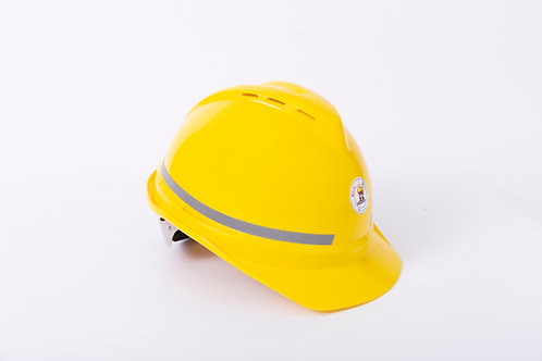 DR SAFETY 安全帽 有氣孔/轉子/有反光邊 (附送Y型下爬帶)
