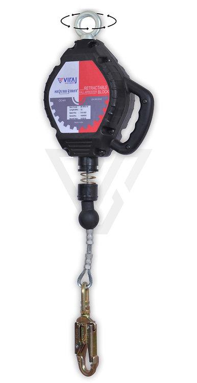 Viraj SF-RFA 6M/10M 防墮器(鋼纜) Fall Arrester(Wire)