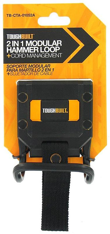 TOUGHBUILT 2 in 1 HAMMER HOOK 工具腰包專用鎚仔掛勾