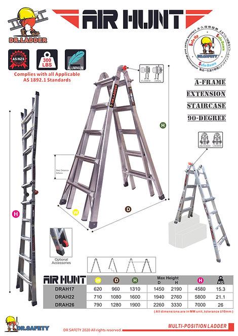 DR LADDER DRAH Series (AIR HUNT) 多功能伸縮鋁梯