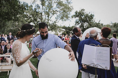 Suelta Globos Ceremonia
