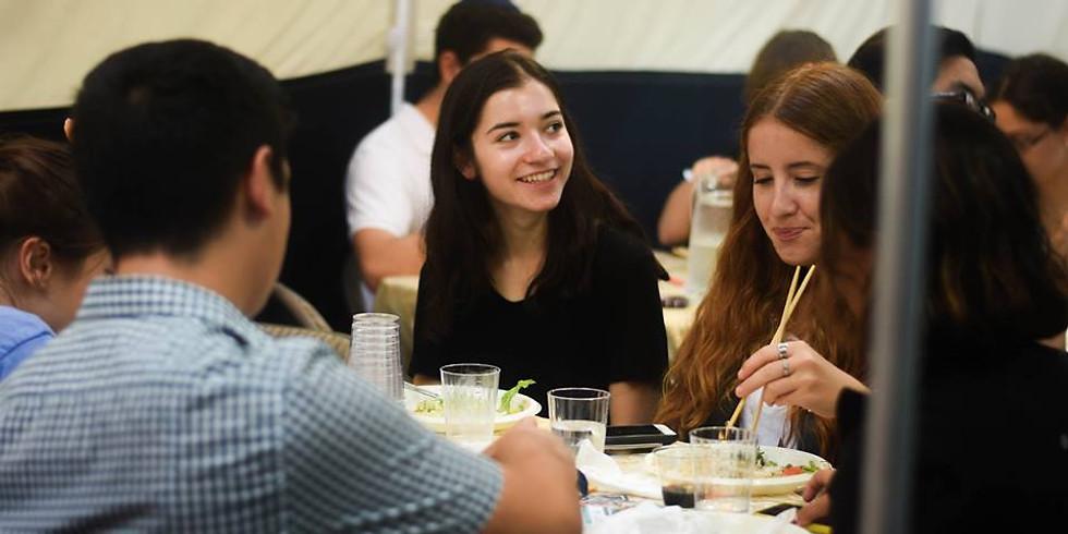 Sukkot Shabbat Lunch