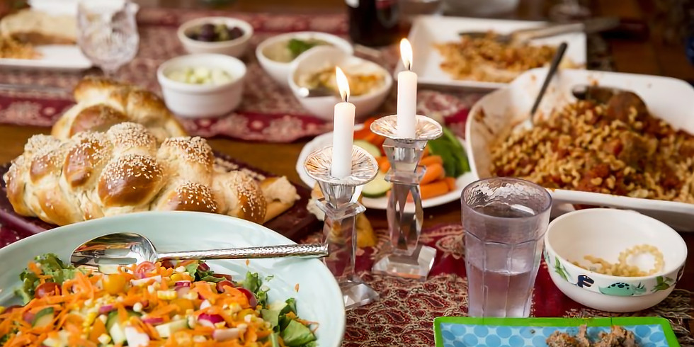 Shemini Atzeret and Shabbat Dinner To-Go