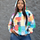 Thumbnail: Bandana patch work hoodie