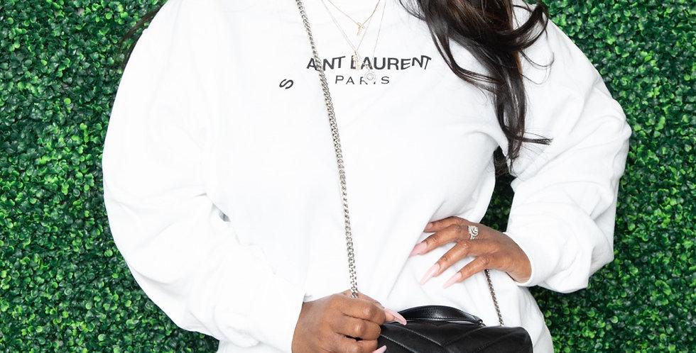 Ain't Laurent sweatshirt