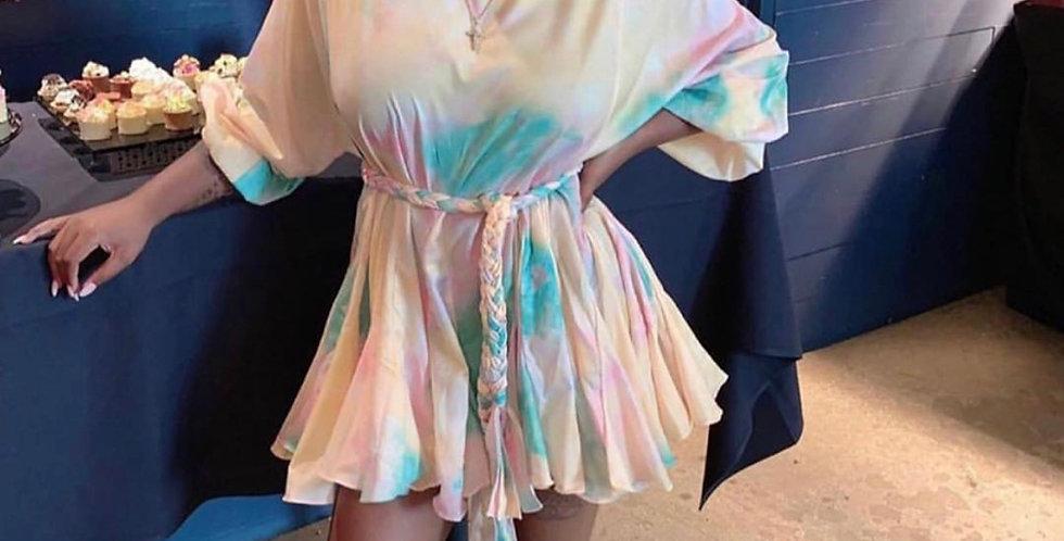 Rainbow Sherbet mini dress