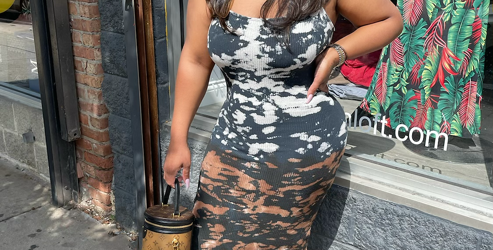 Feel The Vibe midi dress
