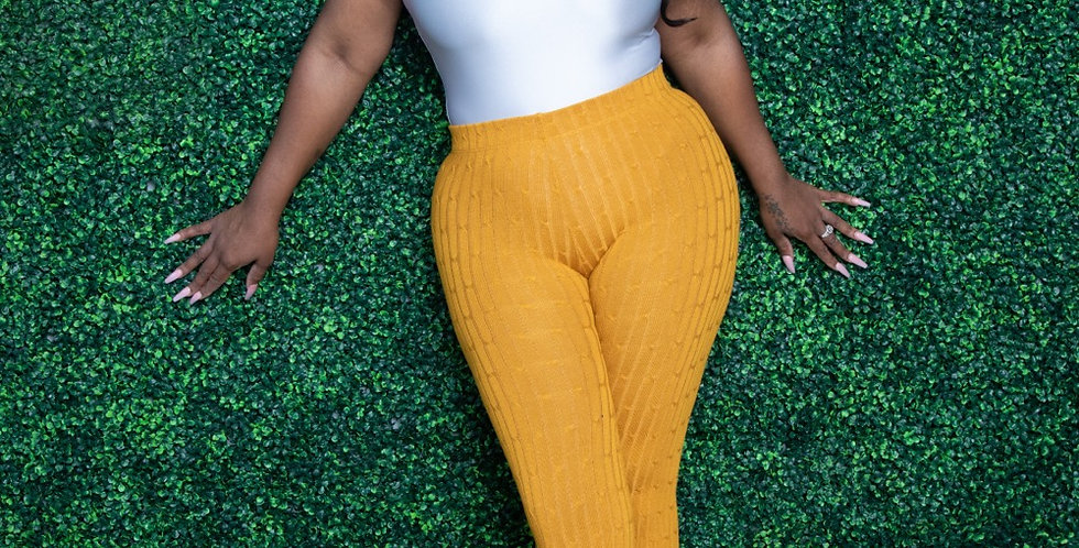 In a Knit pants