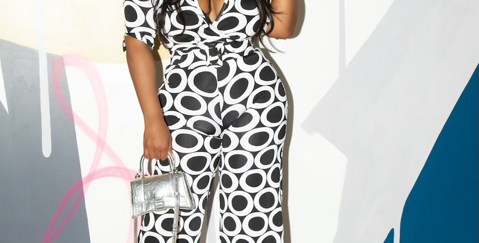 Harmony Belted jumpsuit