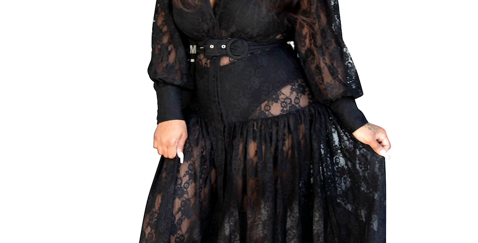 Somebody to love lace maxi dress