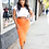 Thumbnail: On your mind ruched midi skirt