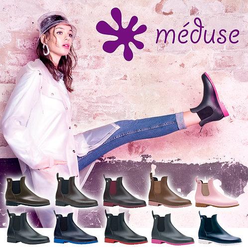 【MEDUSE メデュース】ジャンピー【JUMPY】メディウス サイドゴアレインブーツ ショートブーツ レインシューズ 長靴 UMO メデュース 完全防水