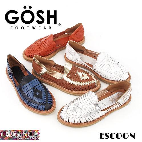 【GOSH/ゴッシュ】メキシコ製 カラーメッシュレザー スリッポン【ESCOON】
