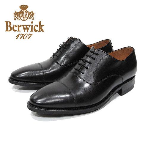 【BERWICK バーウィック】 ストレートチップ ビジネスシューズ(1251) ブラック