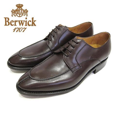 【BERWICK バーウィック】 Uチップ ビジネスシューズ(2686) ダークブラウン